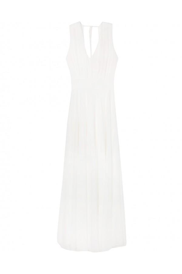 lynne Maxi ασύμμετρο chiffon φόρεμα 039-511023.1 aebffddeccd