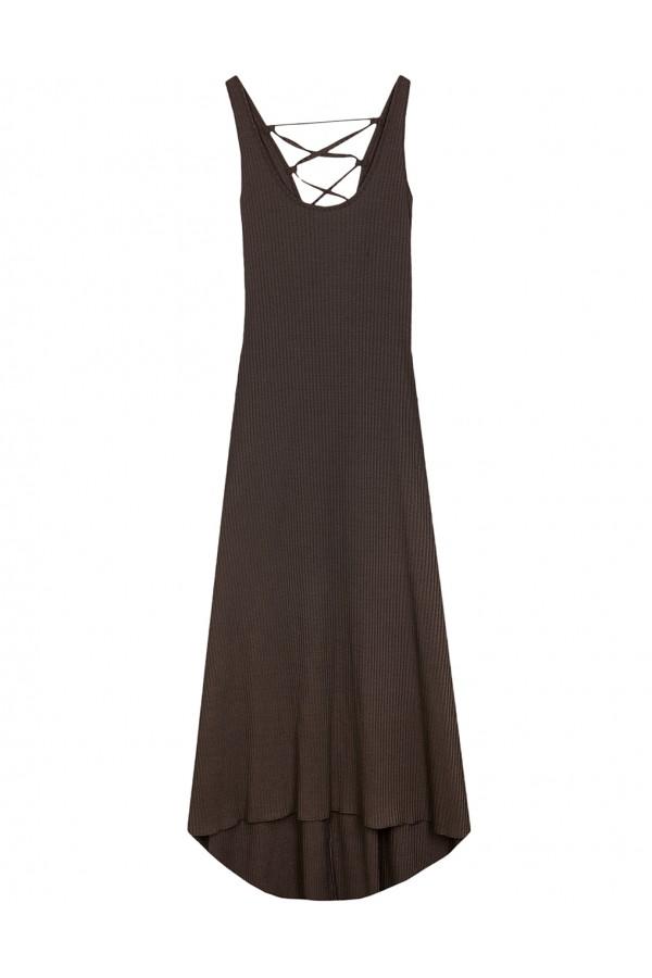 lynne Aσύμμετρο ριπ φόρεμα με σταυρωτή πλάτη 139-511046.1 06bb5b8410f