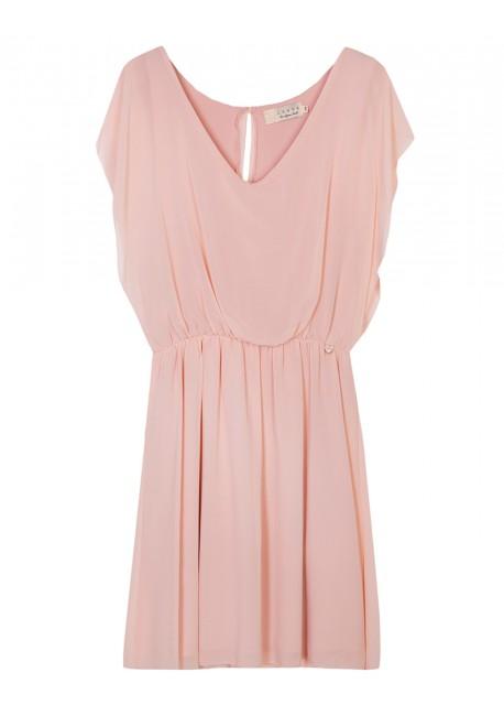 b99c9e83c752 lynne Φόρεμα mini μουσελίνα 039-511020.2