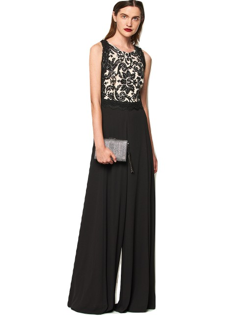 LYNNE Ολόσωμη φόρμα με τούλι 140-544009 a456c3035ee