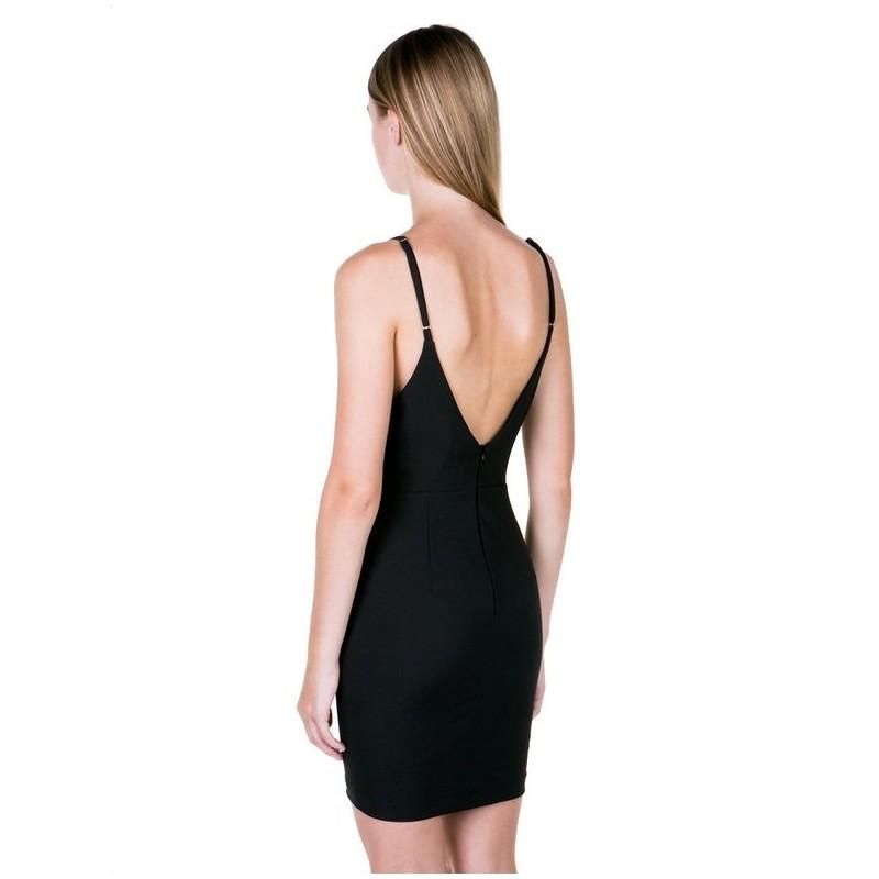 46e982fcadf3 ... TOI MOI Εφαρμοστό φόρεμα με λεπτή τιράντα 50-3773-28