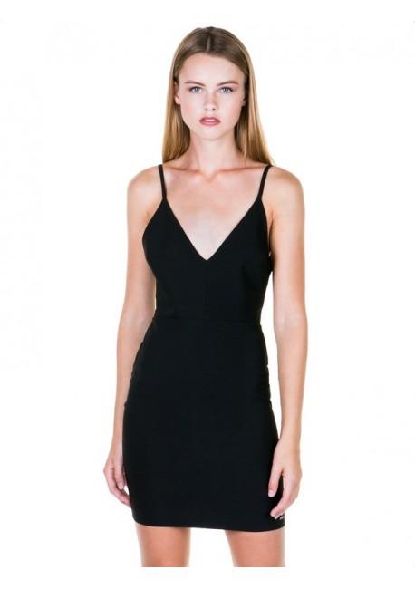 ae2e1cb2feb5 TOI MOI Εφαρμοστό φόρεμα με λεπτή τιράντα 50-3773-28 Expand