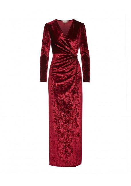 LYNNE Βελούδινο μακρύ φόρεμα 040-511026 452c11a1b44