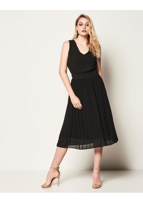 20c2bfeb71f2 LYNNE ΚΑΛΛΙΘΕΑ,Αμάνικο πλισέ φόρεμα, 041-511009,
