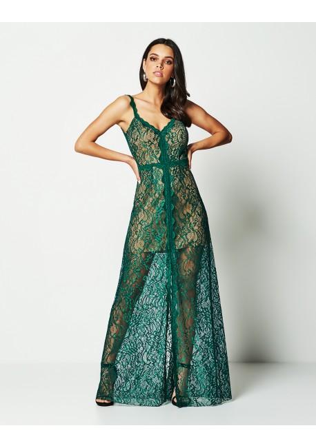 ba2e5ba7dd7 LYNNE Φόρεμα με δαντέλα 141-511100