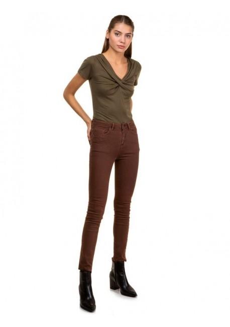 TOI & MOI Εφαρμοστό πεντάτσεπο παντελόνι 20-3084-29